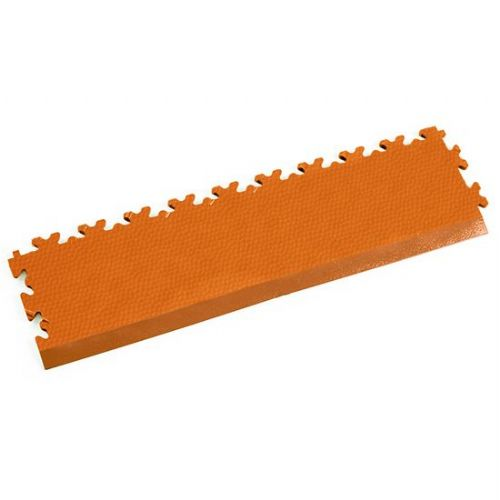 Orange Snakeskin - Interlocking Tile Edging